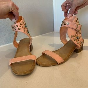 Rebel studded sandal 8